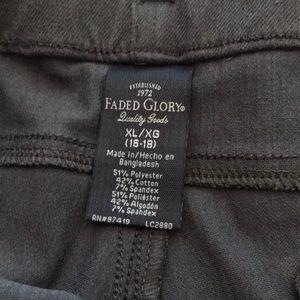 Faded Glory Pants - Faded Glory leggings sz xl (16/18)